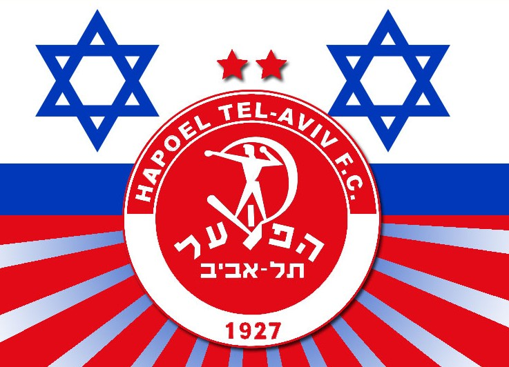 Hapoel Tel-Aviv FC Logo 3D Wallpaper