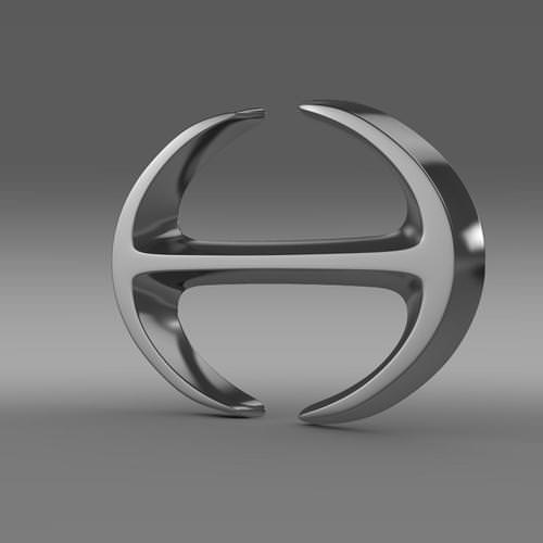 Hino Logo 3D Wallpaper