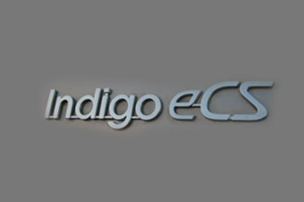 Indigo Logo 3D Wallpaper