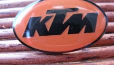 KTM badge