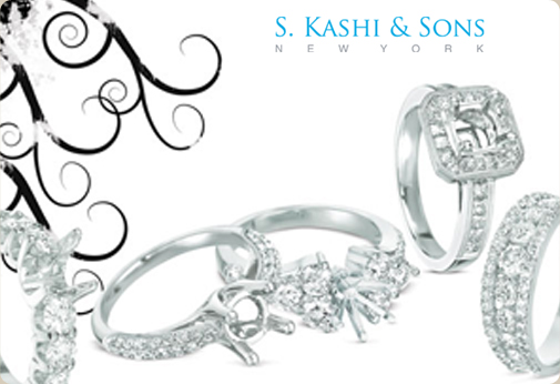 Kashi Jewellers Logo 3D Wallpaper