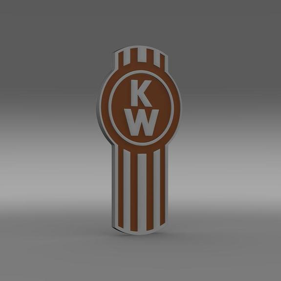 Kenworth Logo 3D Wallpaper