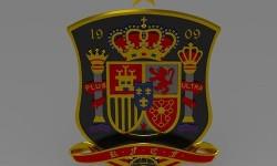 Levante UD Logo 3D