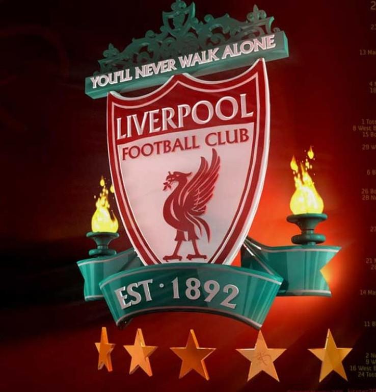 Liverpool FC Logo 3D -Logo Brands For Free HD 3D