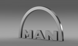 MAN Logo 3D
