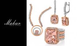 Makur Designs Jewelry Logo 3D
