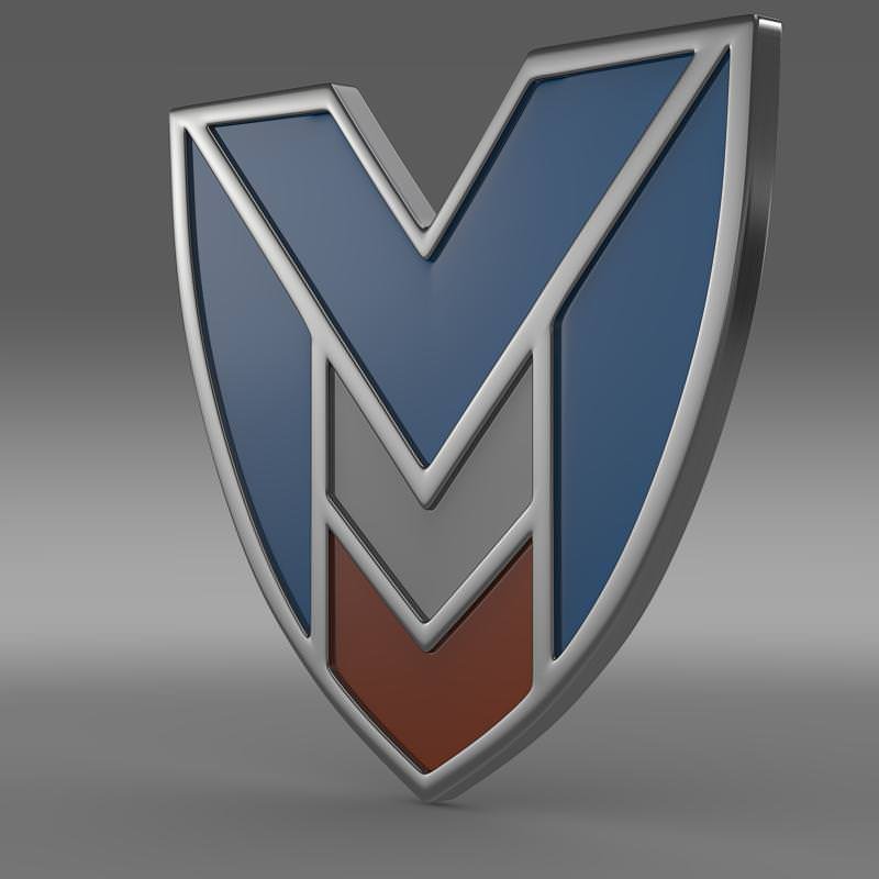 Marussia Logo 3D Wallpaper