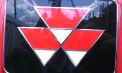 Massey Ferguson Logo 3D