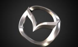 Mazda logo 3D