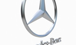 Mercedes Benz Logo 3D