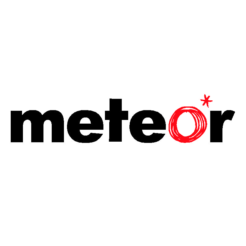 Meteor Logo 3D Wallpaper