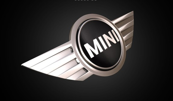 Mini Logo 3D Wallpaper