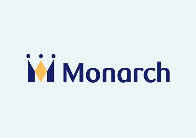 Monarch Logo 3D Wallpaper