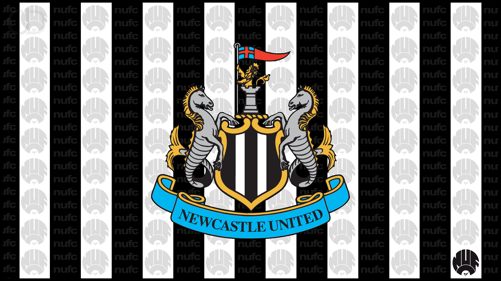 Newcastle United FC Symbol Wallpaper
