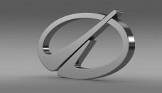 Oldsmobile Logo 3D
