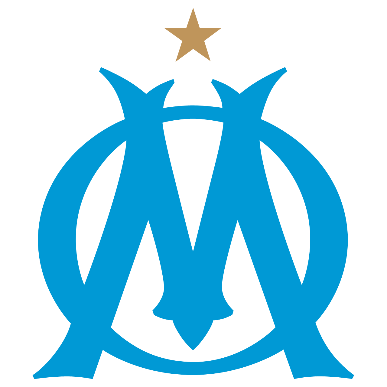 Olympique de Marseille Logo Wallpaper