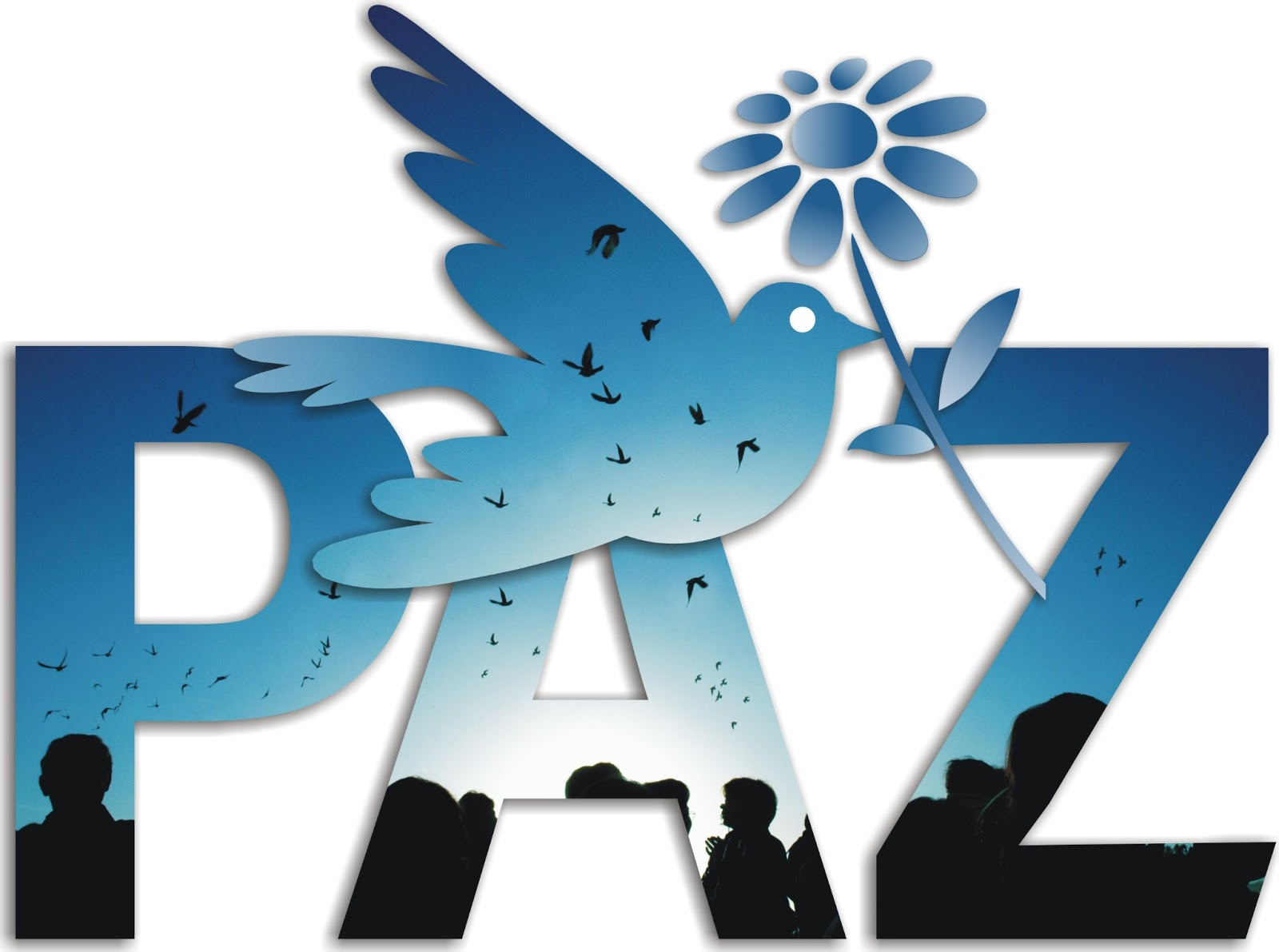 PAZ Logo 3D Wallpaper