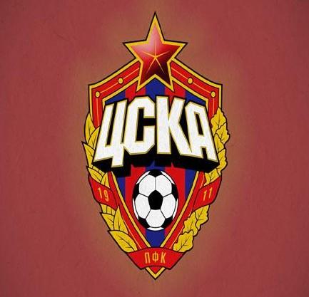 PFC CSKA Moskva Logo 3D Wallpaper