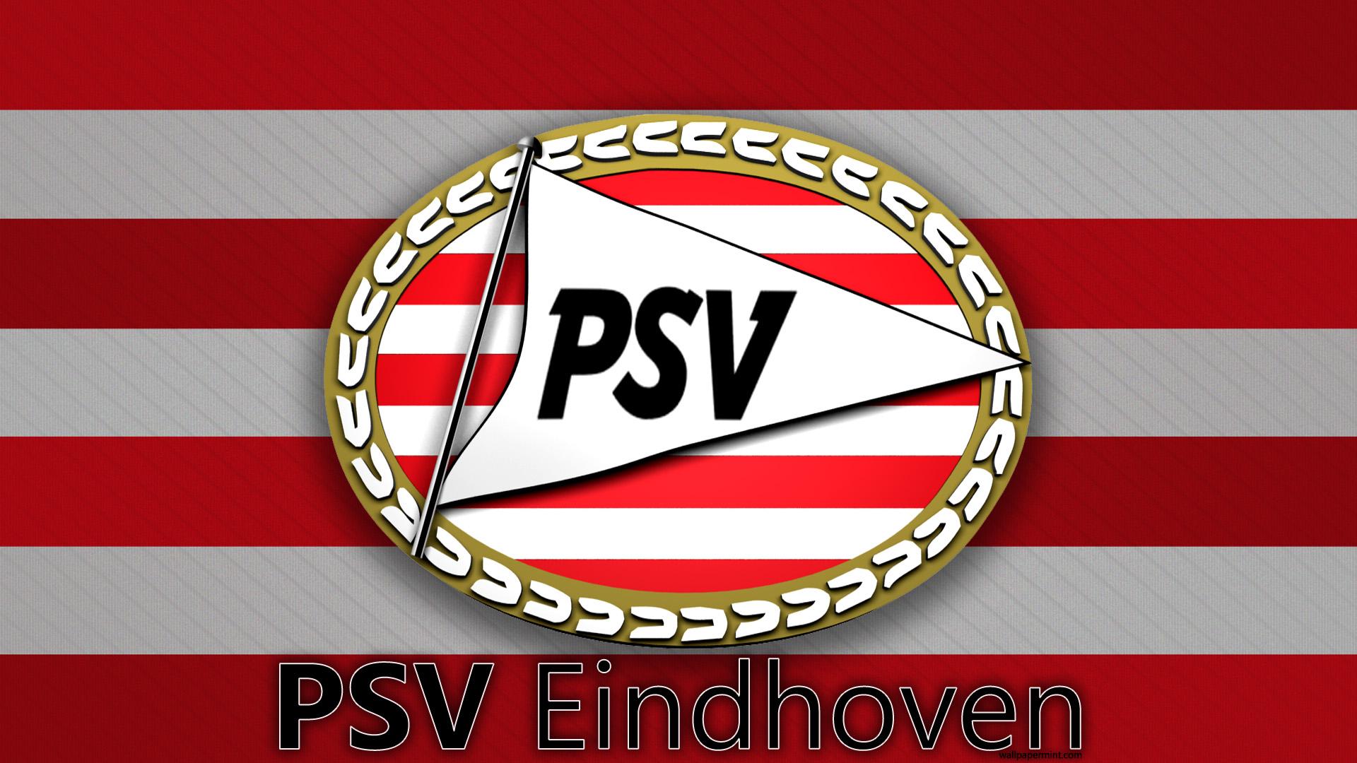 PSV Eindhoven Logo 3D Wallpaper