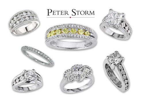 Peter Storm Jewelry Logo 3D Wallpaper