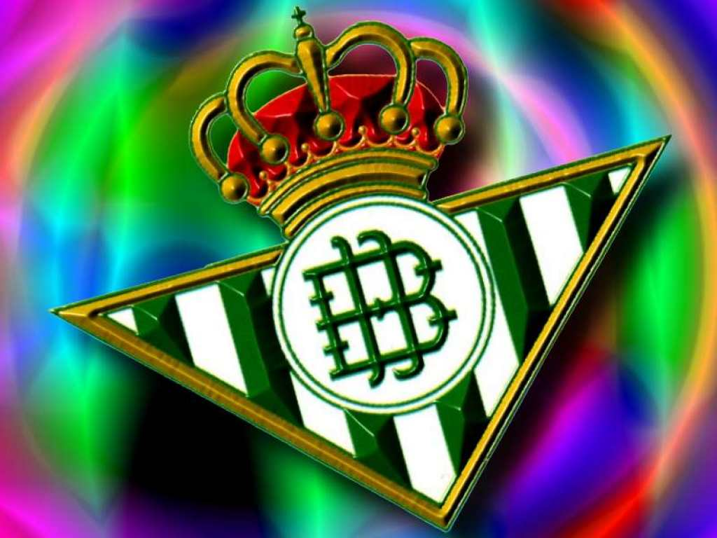 Real Betis Balompie Logo 3D Wallpaper