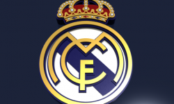 Real Madrid CF Logo 3D