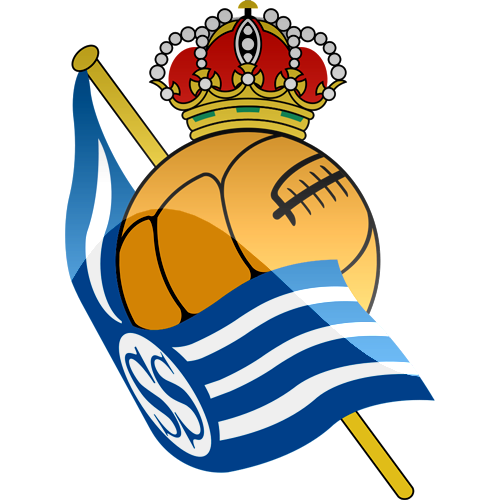 Real Sociedad de Futbol Logo 3D Wallpaper