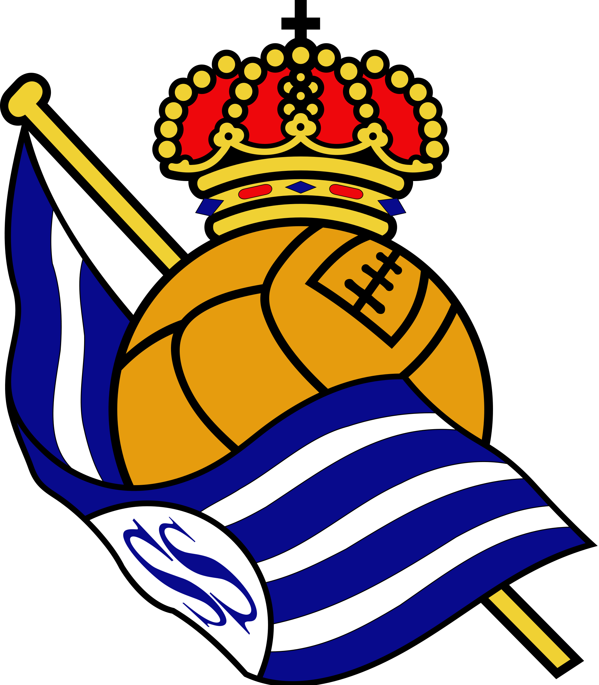 Real Sociedad de Futbol Logo Wallpaper