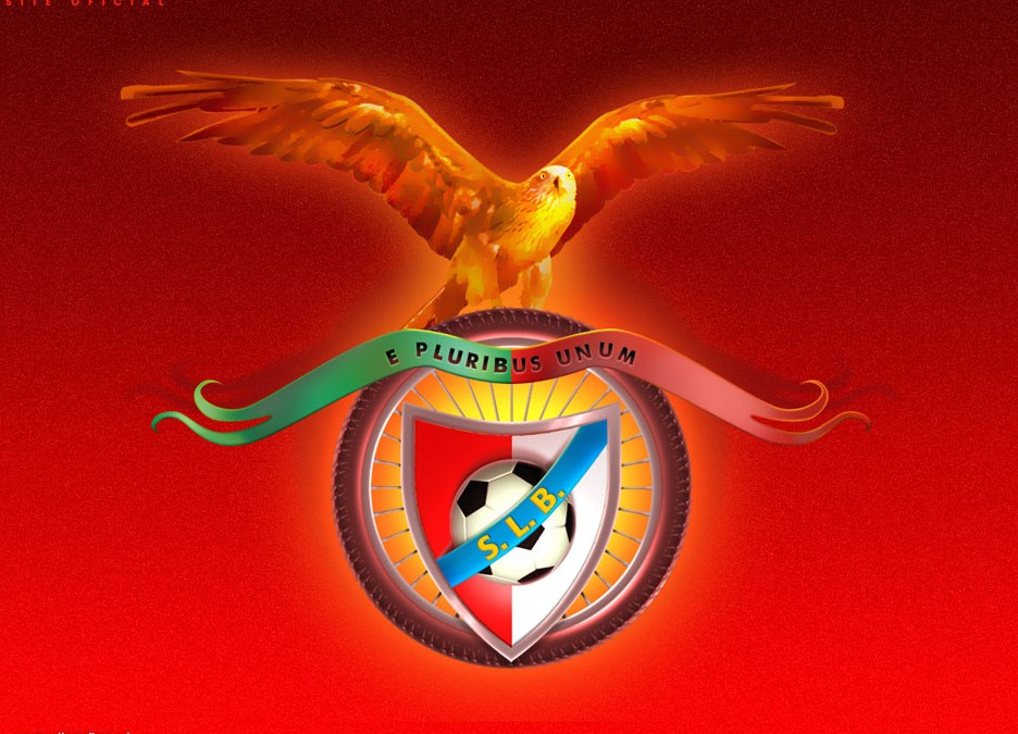 SL Benfica Logo 3D Wallpaper