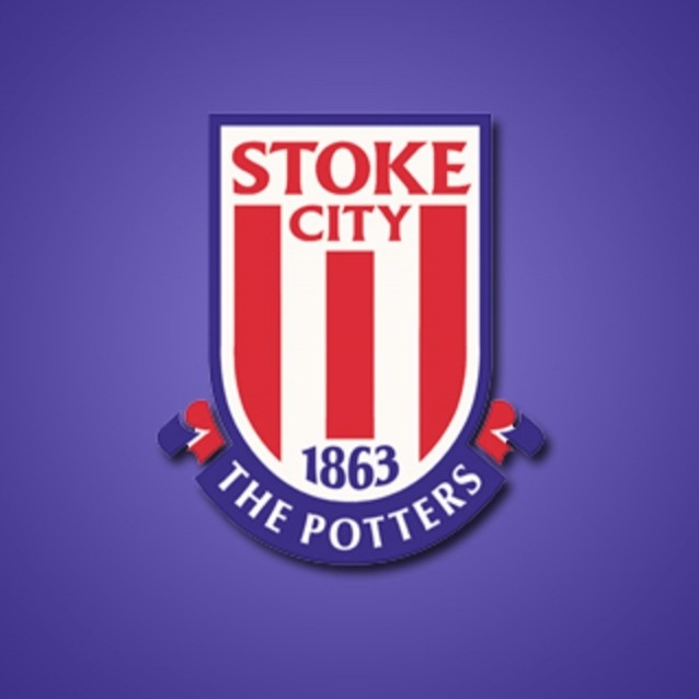 Stoke City FC Logo 3D Wallpaper