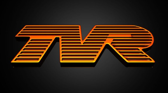 TVR Logo 3D Wallpaper