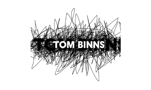 Tom Binns Logo 3D Wallpaper