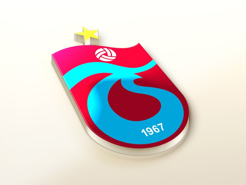 Trabzonspor AS Logo 3D Wallpaper