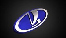 VAZ Logo 3D