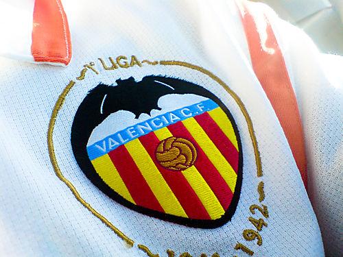 Valencia CF Logo 3D Wallpaper