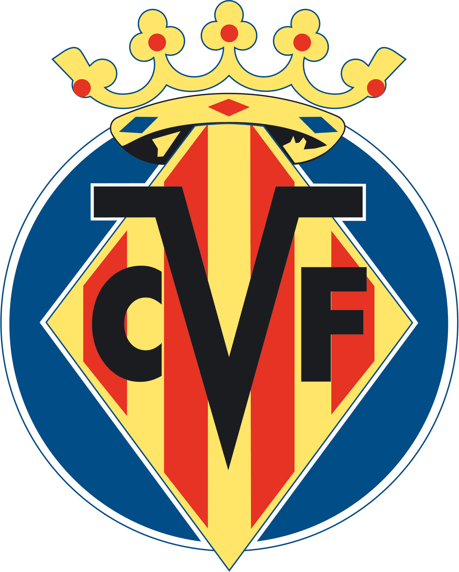 Villarreal CF Logo 3D Wallpaper
