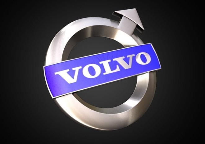 Volvo Logo 3D Wallpaper