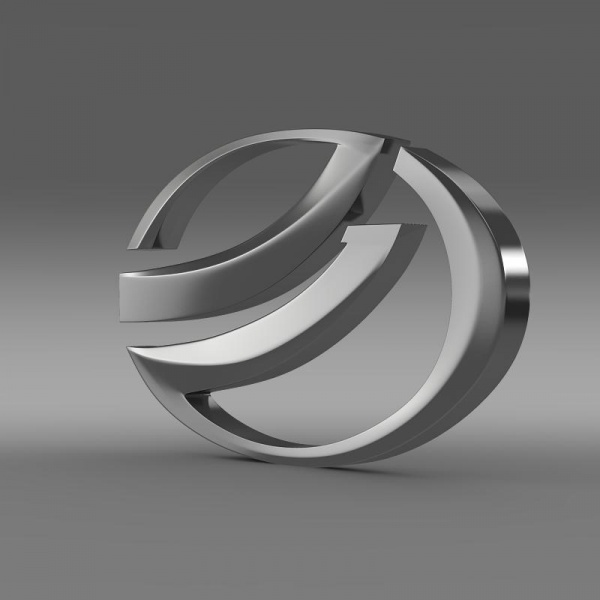 ZAZ Logo 3D Wallpaper