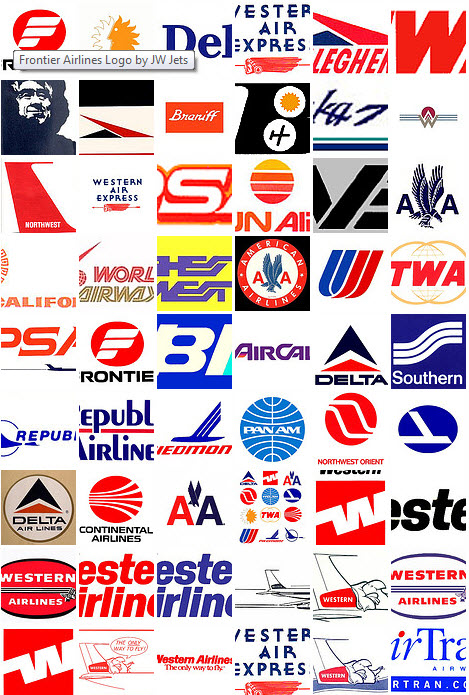 Airline logos Wallpaper