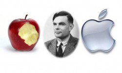 Alan turing Apple logo