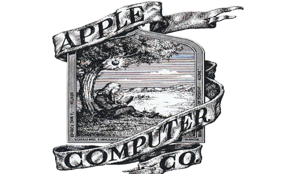Apple first logo Wallpaper