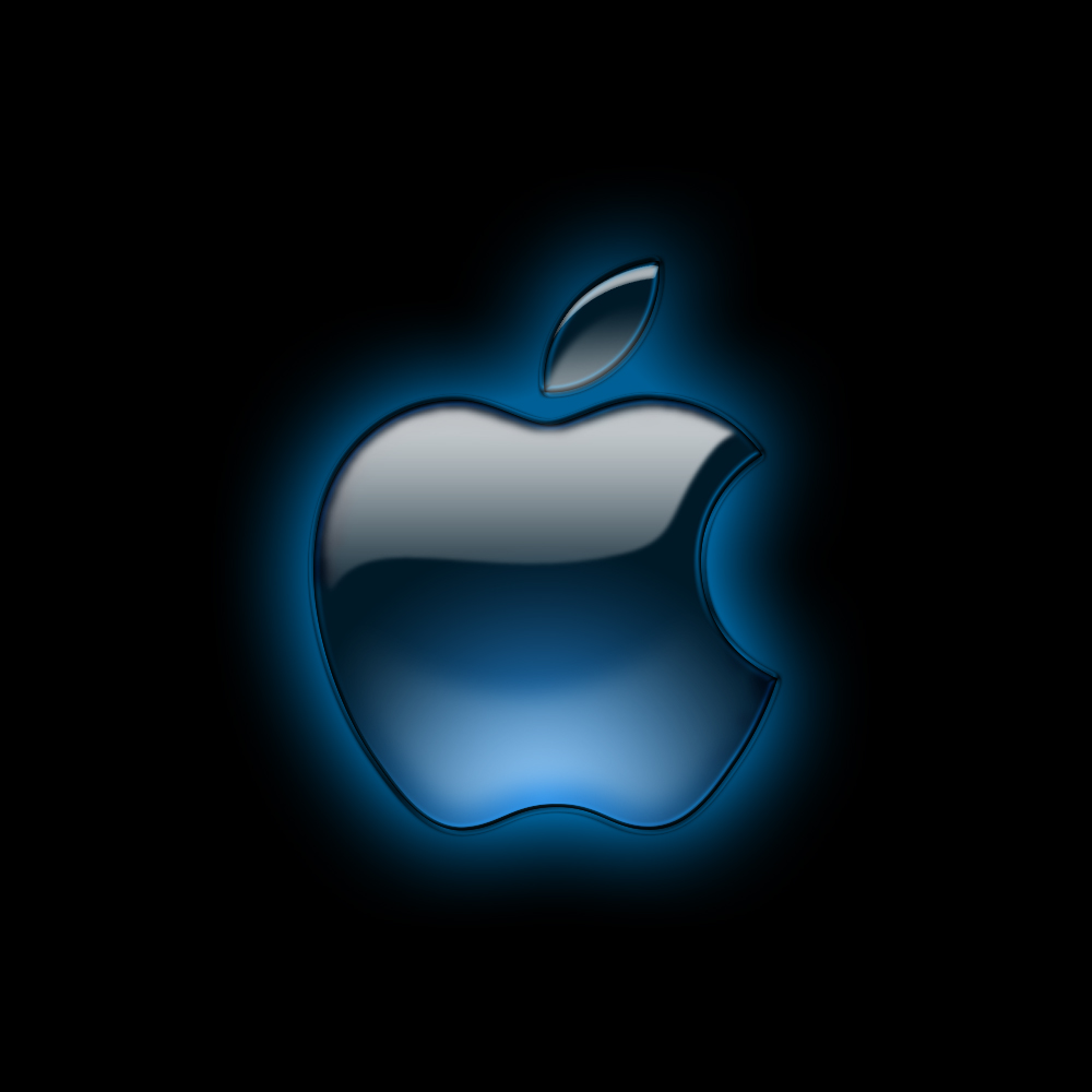 Apple logo font Wallpaper