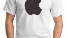 Apple logo t shirt
