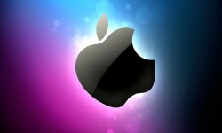 Apple tv logo 3D