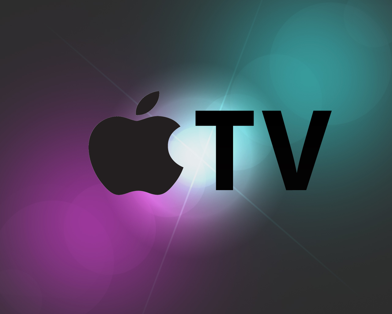 Apple tv logo Wallpaper