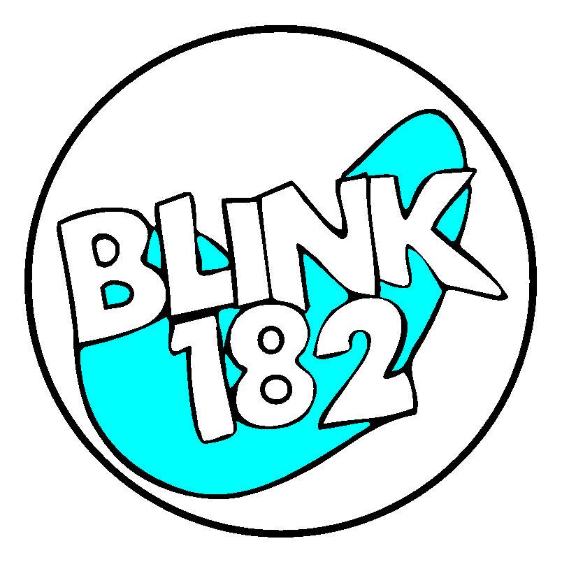 Blink 182 logo Wallpaper