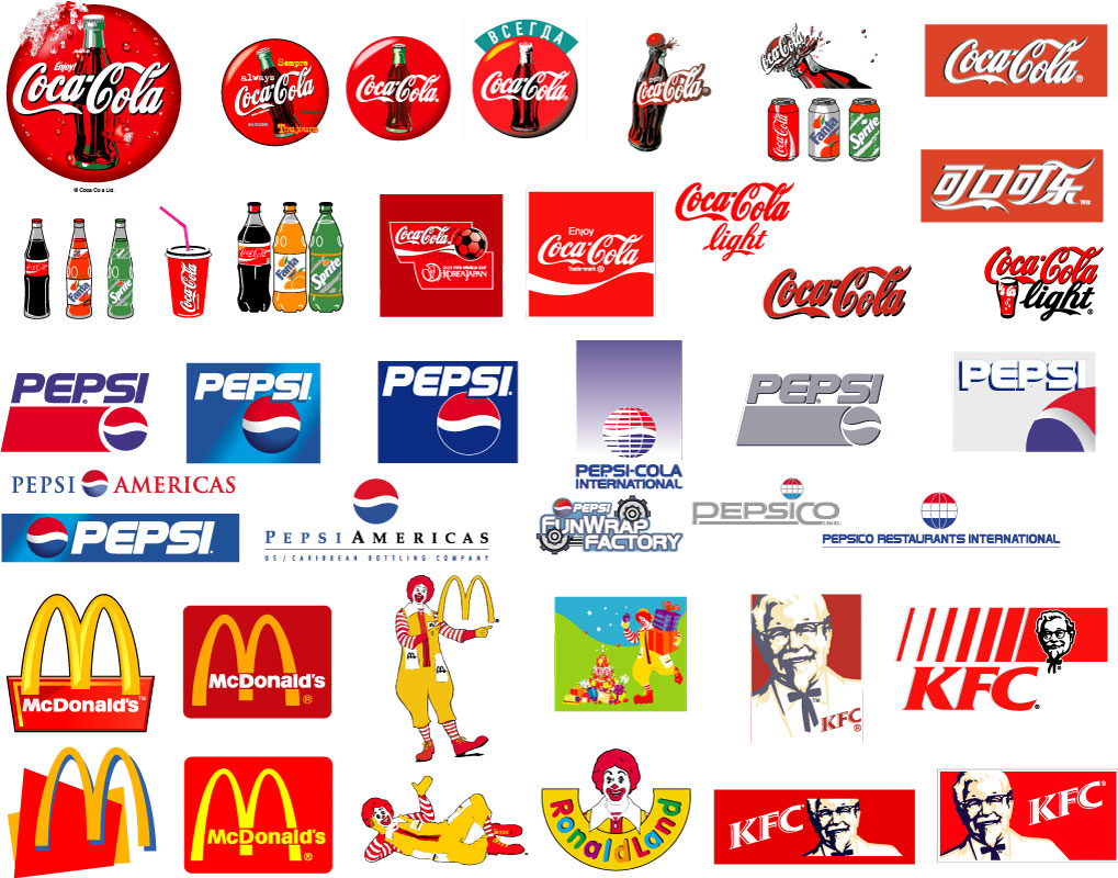 Brand logos Wallpaper