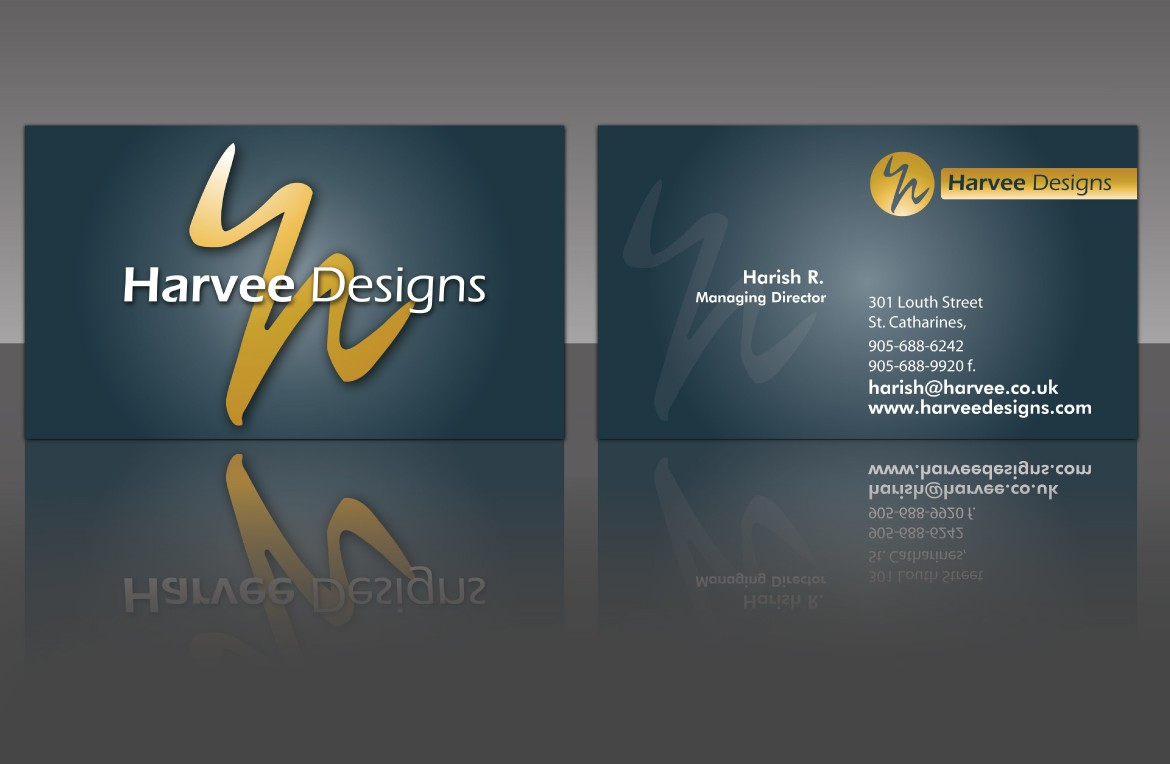 Business card design Wallpaper