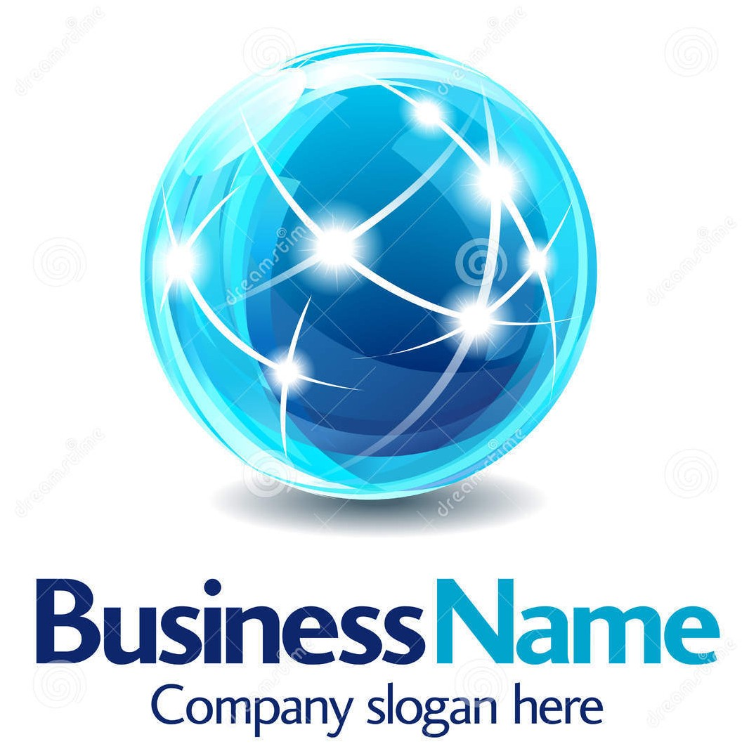 Business logo 3d design Wallpaper