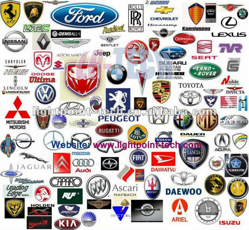 Car brands logos 2014 Wallpaper
